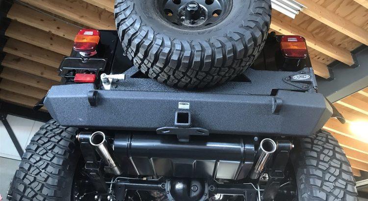 Restauratie Jeep Wrangler V8