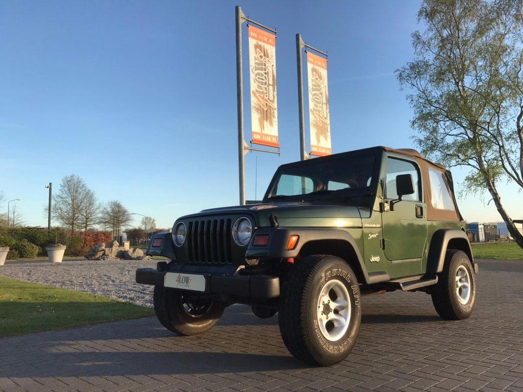 Jeep Wrangler TJ 2.5L Sport VERKOCHT