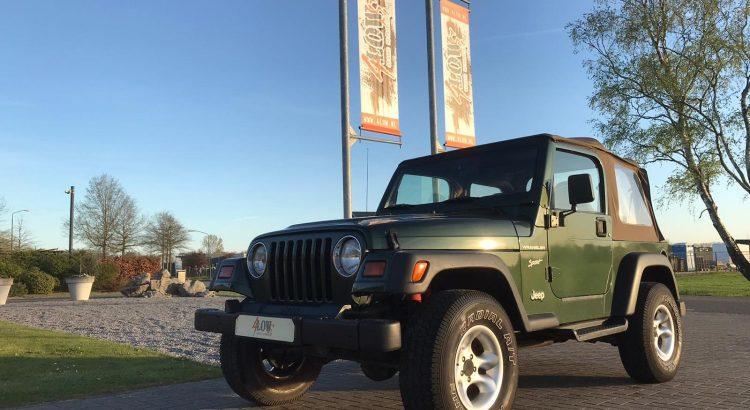 Jeep Wrangler TJ 2.5L Sport €6.990,-