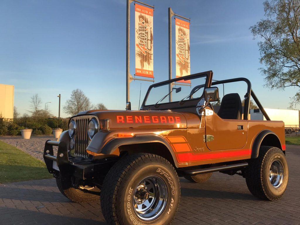 Jeep CJ7 in perfecte staat VERKOCHT