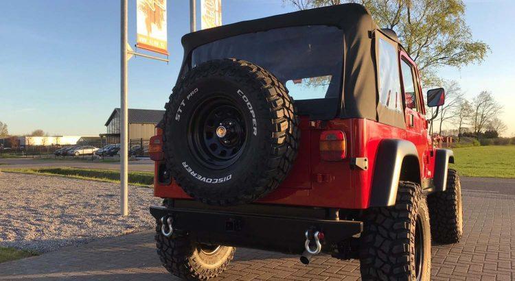 Special Warn Edition Jeep Wrangler YJ VERKOCHT
