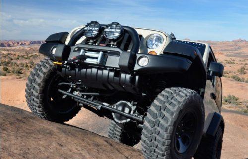 AEV Beschermplaat voorkant Bumper - Jeep Wrangler JK
