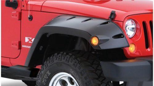 Bushwacker voorspatbord fakkels - Jeep Wrangler JK 2 deurs
