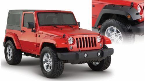 BUSHWACKER voorspatbordfakkels - Jeep Wrangler JK