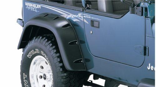 Bushwacker Spatborden Cut-Out voor Jeep Wrangler YJ