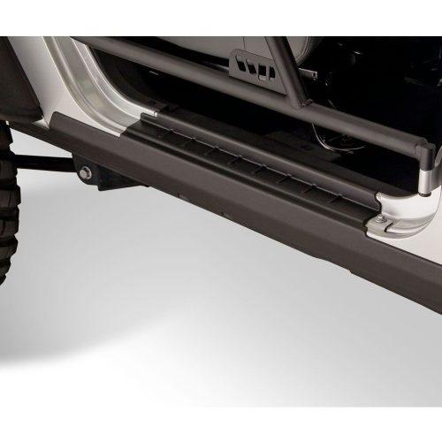 Bushwacker set Rocker panelen dorpellijsten - Jeep Wrangler JK 07-18 2 deurs