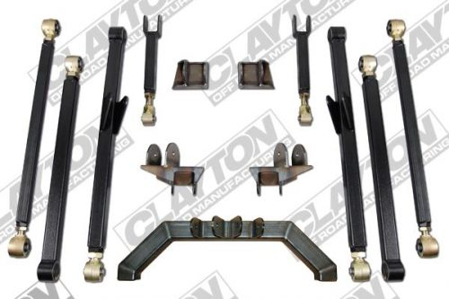 Clayton Offroad upgrade long arm liftkit 4-8 inch Wrangler TJ/LJ 97-06