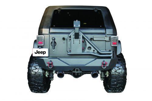 GO INDUSTRIES achterste stalen bumperbanddrager - Jeep Wrangler JK