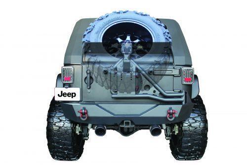 """SMITTYBILT banddrager Slant Go Industries """"Pre-Runner look"""" toevoeging - Jeep Wrangler JK"""