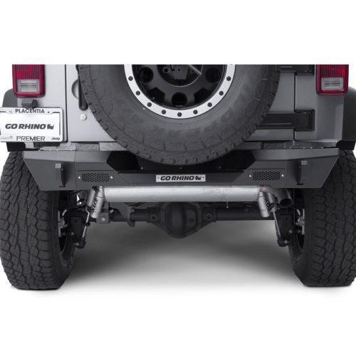 Go Rhino achter Stubby bumper Trailline - Jeep Wrangler JK 07-18