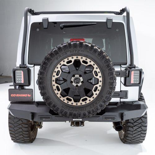 Go Rhino achter Rechte Bumper Trailline - Jeep Wrangler JK 07-18