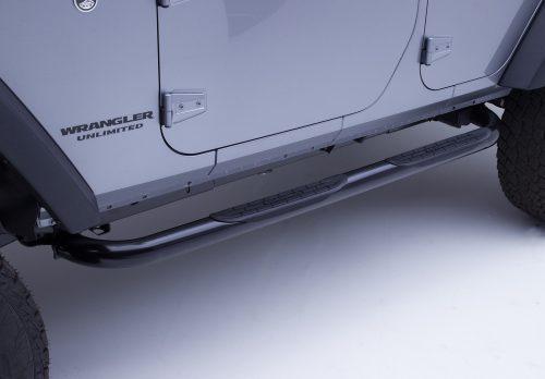 Go Rhino side steps uit de 4000-serie - Jeep Wrangler JK 4-deurs