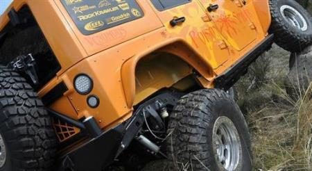 POISON SPYDER achterste stalen fenders- Jeep Wrangler JK