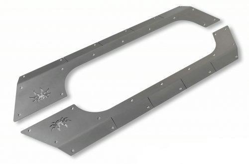 POISON SPYDER Body armor aluminium - Jeep Wrangler JK