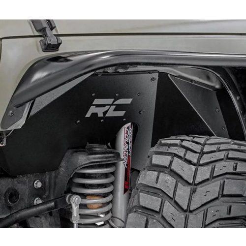 Rough Country binnenste en achterste spatborden - Jeep Wrangler JK 07-18