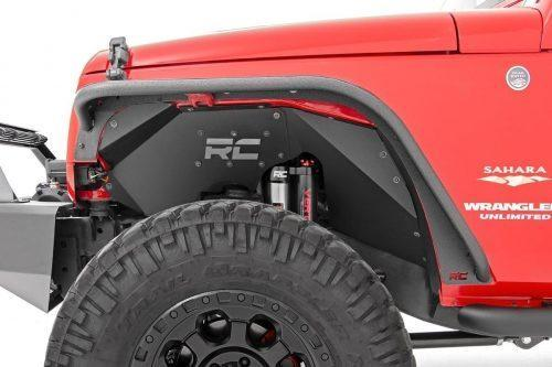 Rough Country buisvormig Fender Flares - Jeep Wrangler JK 07-18