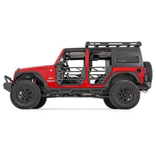 Rough Country voor- en achterspatbord verwijder kit - Jeep Wrangler JK 07-18