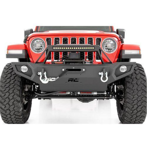 Rough Country Voor Trail bumper - Jeep Wrangler JK 07-18