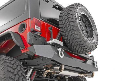 Rough Country Rock Crawler HD achterbumper met bandendrager - Jeep Wrangler JK