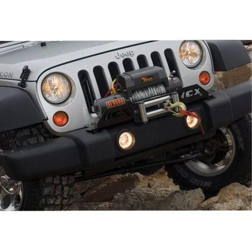 Rough Country liermontageplaat - Jeep Wrangler JK 07-18