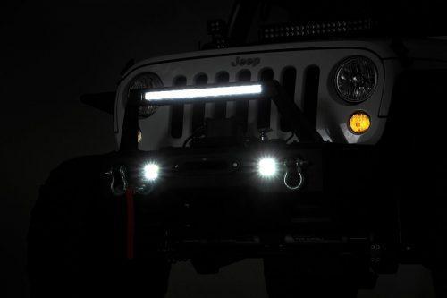 Rough Country stalen voorbumper LED met lierplaat