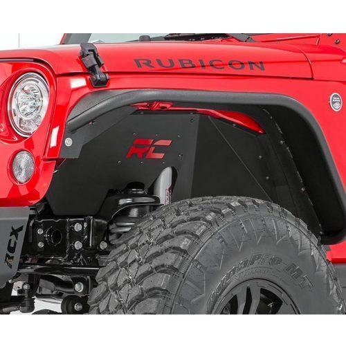 Rough Country voorste binnenste spatborden - Jeep Wrangler JK 07-18