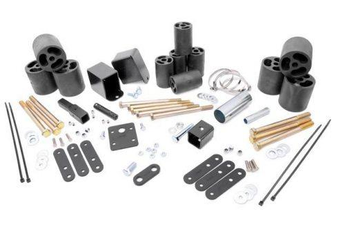Rough Country liftkit 3 inch Wrangler TJ 97-06 automaat