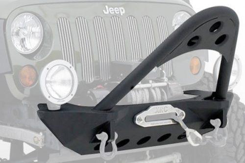SMITTYBILT stalen voorbumper met Stinger - Jeep Wrangler JK