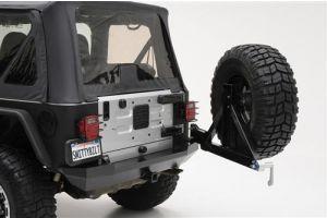 Smittybilt wegzwenkbare bandendrager XRC - Jeep Wrangler YJ