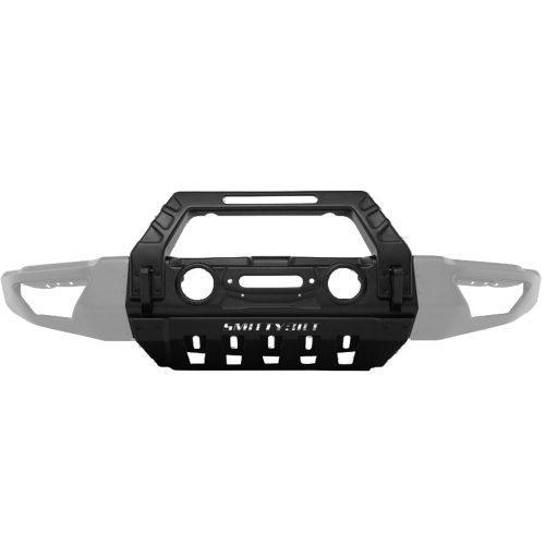 Smittybilt voorbumper Stryker Modulair middengedeelte met bullbar - Jeep Wrangler JK 07-18