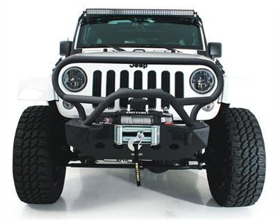 Smittybilt grillbeschermer voor voorbumper M.O.D. - Jeep Wrangler JK