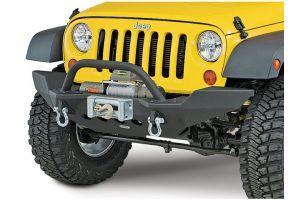 Smittybilt tussenmaat eindplaten voor voorbumper M.O.D. XRC - Jeep Wrangler JK