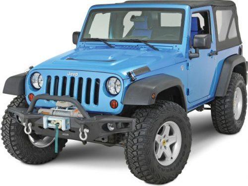 Smittybilt Crawler-eindplaten voor voorbumper M.O.D. XRC - Jeep Wrangler JK