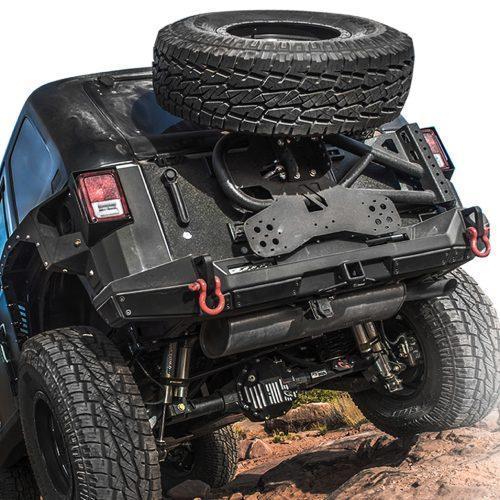 SMITTYBILT banddrager SLANT TYRE - Jeep Wrangler JK