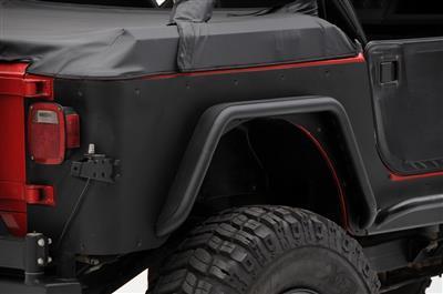 Smittybilt achterste hoekbeschermers XRC - Jeep Wrangler YJ