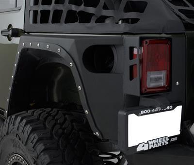SMITTYBILT achterhoeken pantser XRC - Jeep Wrangler JK 2 deur