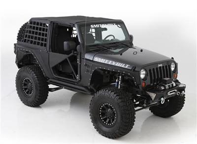 Smittybilt sidebars XRC Rock Sliders - Jeep Wrangler JK 2-deurs (paar)