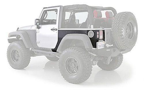 SMITTYBILT achter zijkant beschermer XRC - Jeep Wrangler JK 2-deurs