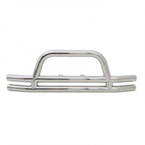 SMITTYBILT buisvormige bumper voor roestvrij staal - Jeep Wrangler JK