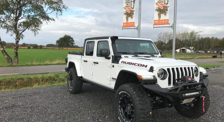 Nieuwe Jeep Gladiator onder handen genomen.